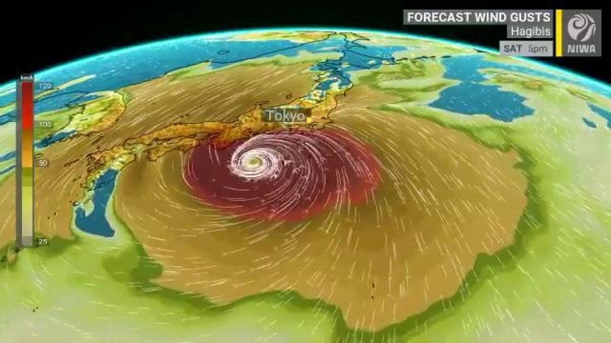 Giappone, arriva il tifone Hagibis: annullate le prove di Formula 1 di domani