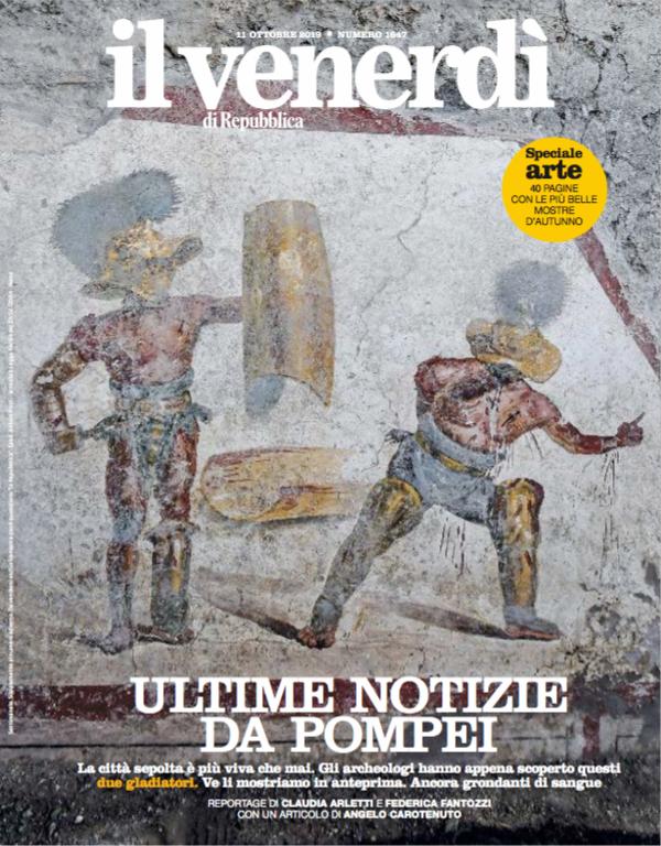 Ultime notizie da Pompei, città sepolta più viva che mai