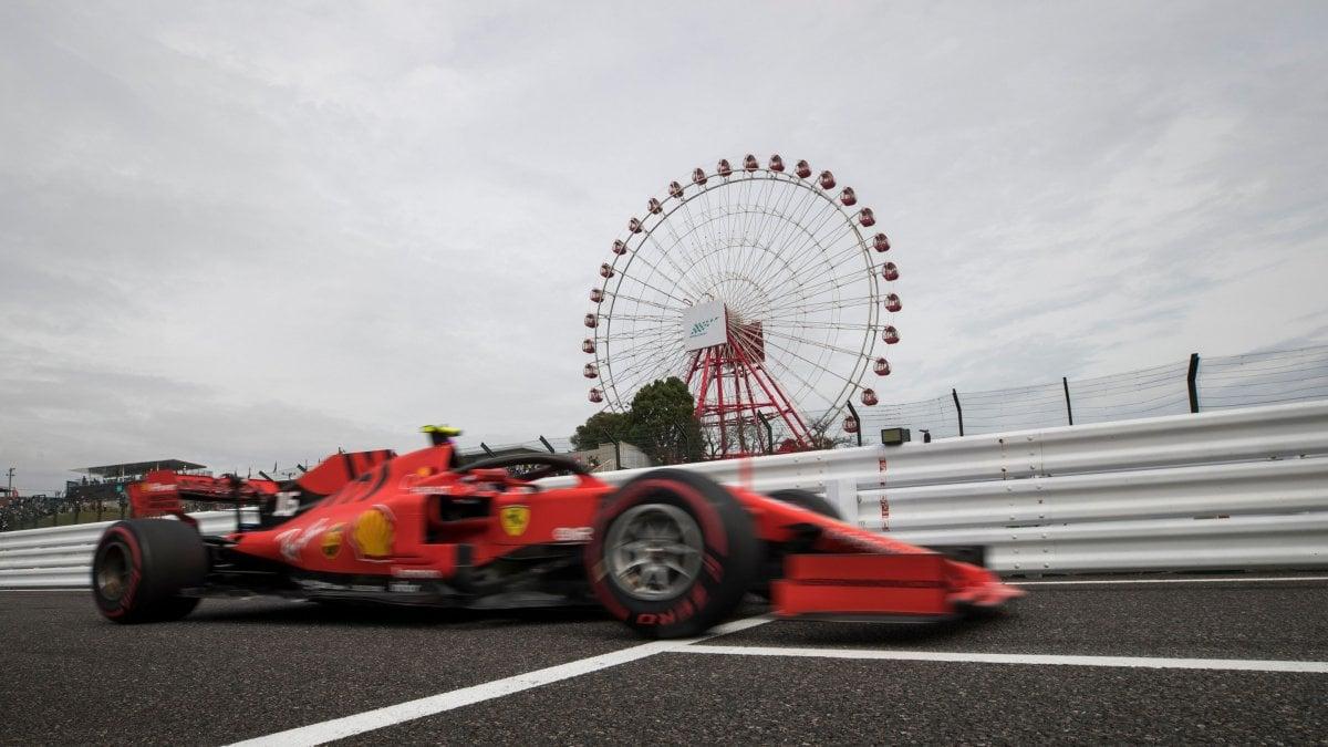 """F1, Gp Giappone, la Ferrari insegue nelle libere: """"Il bagnato ci può aiutare"""""""