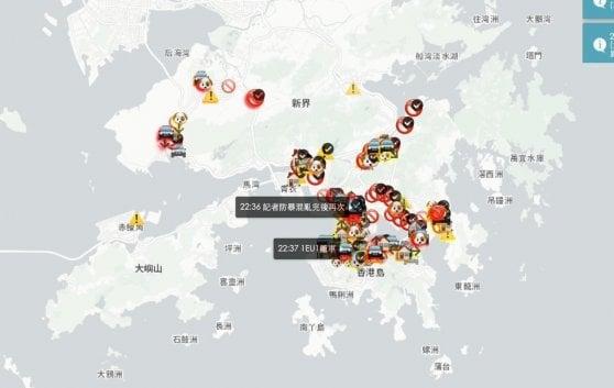"""Cook spiega la rimozione dell'app HKmap.live: """"Difendiamo i nostri utenti"""""""