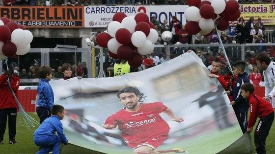 Calcio, assolti i tre medici imputati per la morte sul campo del calciatore Morosini