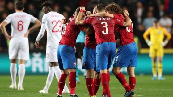 Euro 2020, qualificazioni: l'Inghilterra cade in Repubblica Ceca, Portogallo e Francia ok