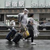 Giappone, il tifone Hagibis si avvicina a Tokyo: un morto e 5 feriti