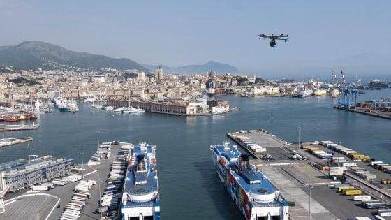 Avviati a Genova i test per l'utilizzo del 5G nel controllo del territorio