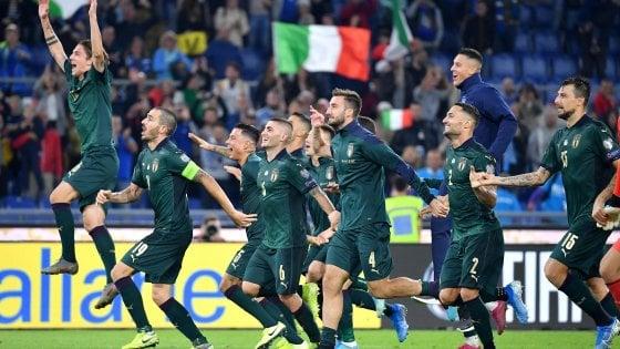 Italia-Grecia 2-0, Jorginho e Bernardeschi lanciano gli azzurri a Euro 2020