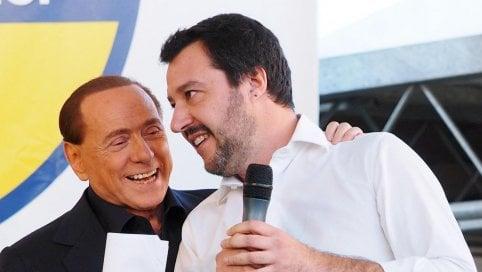 Salvini e l'assalto al Campidoglio. Raccolta di firme per le dimissioni di Raggi all'adunata della Lega