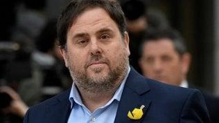Catalogna, verdetto sugli indipendentisti: 13 anni di prigione a Oriol Junqueras
