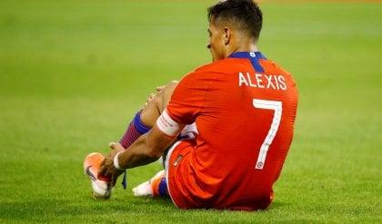 """Sanchez va ko, si teme un lungo stop. Conte: ''Scudetto? Crederci sempre"""""""