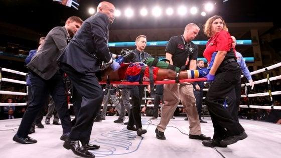 Boxe, Day in condizioni critiche dopo ko contro Conwell