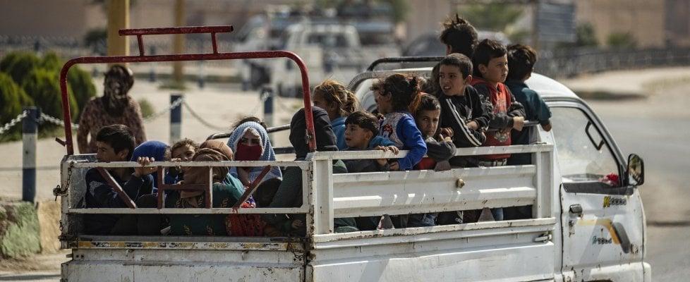 """Siria, Unicef: """"Settantamila bambini sfollati a causa delle violenze nel Nord-Est"""""""