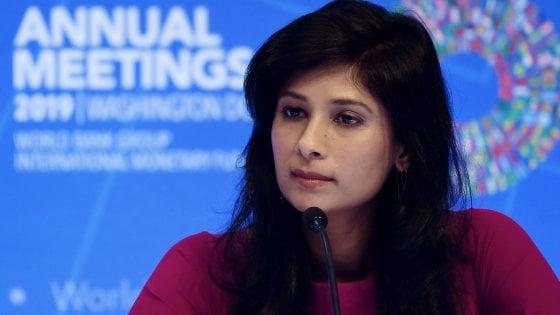 Gita Gopinath, la capo economista del Fmi