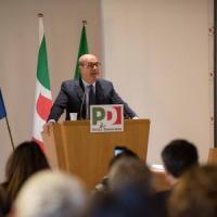 """Pd, Zingaretti: """"Con i 5S per allargare il campo progressista, no intese di palazzo"""". E..."""