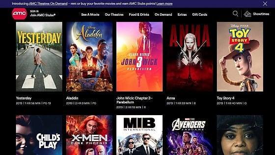 Anche le sale cinematografiche abbracciano lo streaming. Il colosso Amc apre il suo servizio digitale