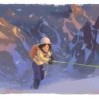 Google: un doodle per Wanda Rutkiewicz, la donna che scalò l'Everest