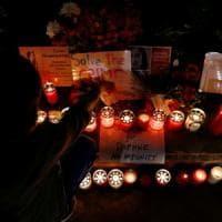 """Migliaia di persone sfilano per Daphne Caruana Galizia a due anni dall'omicidio: """"Fare..."""