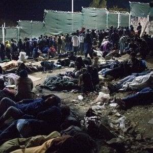 """Grecia, Lesbo:  """"Nel campo di Moria la disumanità nel cuore dell'Europa"""""""