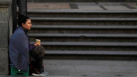 Giornata contro la povertà, 55 mila senza fissa dimora in Italia
