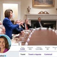 Trump-Pelosi, la foto simbolo dello scontro delle ultime settimane