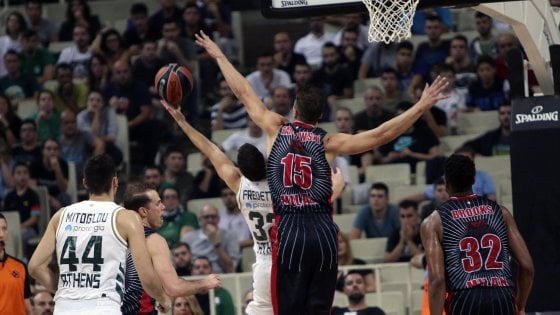 Basket, Eurolega: colpo Milano, vince 79-78 in casa del Panathinaikos