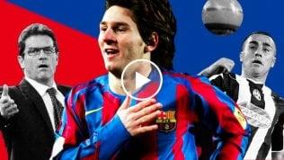 Messi e l'assist contro la Juve che convinse il Barça a non cederlo