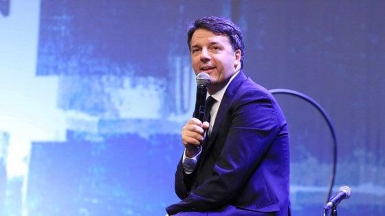 """Manovra, Renzi: """"Quota 100 ingiusta, emendamento per cancellarla"""". Ma Conte lo ferma: """"Pilastro della manovra"""""""