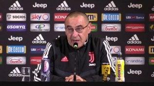 """Sarri: """"La vittoria sull'Inter è già il passato. Lo scetticismo su di me? Ci convivo da sempre..."""""""