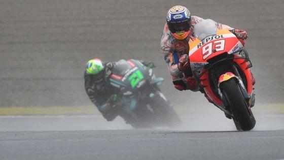 MotoGp Giappone: Marquez conquista la pole, Morbidelli secondo, poi Quartararo