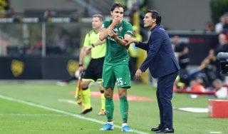 """Fiorentina, Montella: """"Col Brescia gara difficile. Balotelli? Spero gli venga la febbre"""""""