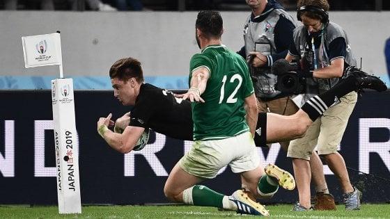 Rugby, Mondiali: la prima semifinale sarà Nuova Zelanda-Inghilterra
