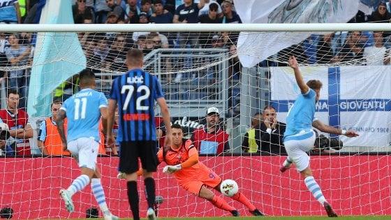 Lazio-Atalanta 3-3: Immobile guida la tripla rimonta biancoceleste