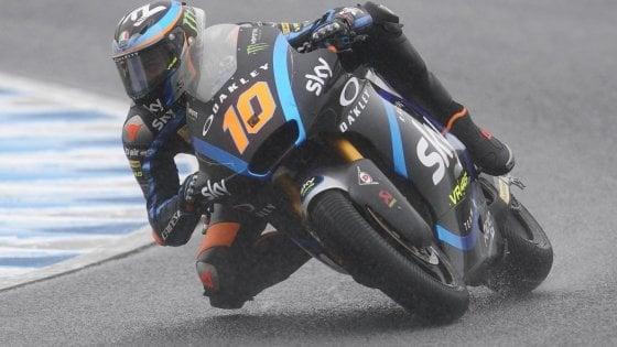 Gp del Giappone, in Moto2 e Moto3 show degli italiani