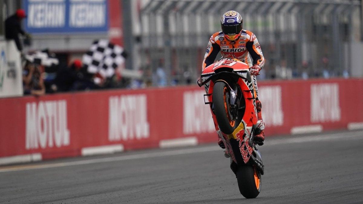 MotoGp, insaziabile Marquez: suo anche il Gp del Giappone