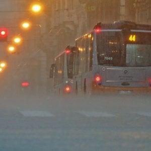 Meteo, allerta temporali e allagamenti a Genova, Caldo al ce
