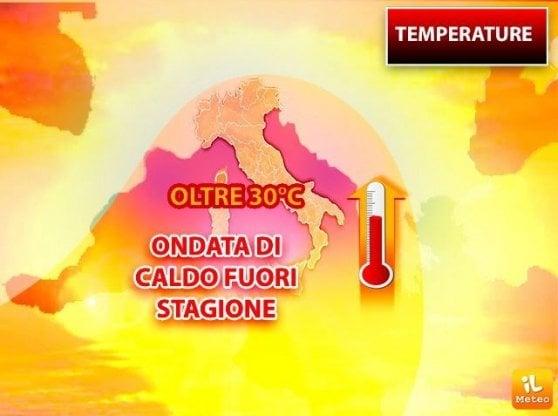 Meteo, allerta temporali e allagamenti a Genova, Caldo al centro-sud, 27 gradi a Roma