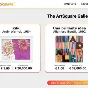 Vuoi comprare un pezzo di un quadro di Andy Warhol? E' possibile grazie a tre italiani di Londra