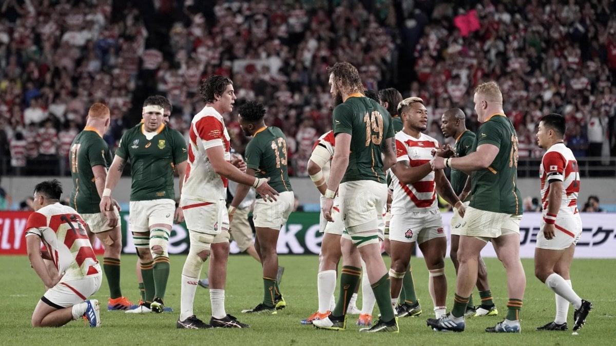 Rugby, finisce il sogno del Giappone: Sudafrica in semifinale con il Galles