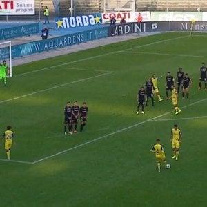 Serie B, il Chievo piega lAscoli e si rilancia. Pari Pisa-Crotone ed Empoli-Cremonese