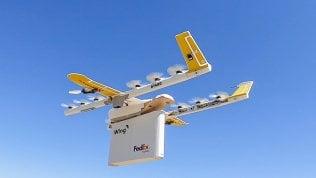 Virginia, gli ordini online consegnati con i droni. Anche in 4 minuti dall'ultimo clic