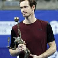 Tennis, Murray torna alla vittoria: trionfo ad Anversa