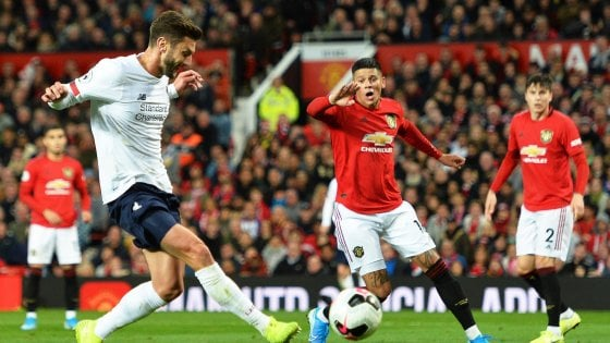 Inghilterra, stop alla striscia vincente del Liverpool: pari con il Manchester United