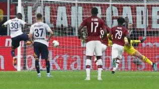 Pioli, 'prima' con beffa al 92': Milan-Lecce 2-2Rep: Juve e Inter, la corsa in testa tra due serpenti che cambiano pelle