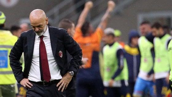 """Milan, Pioli: """"Dovevamo chiuderla, meritavamo la vittoria"""""""