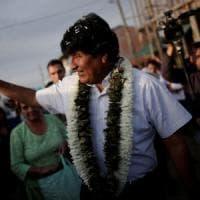 Bolivia, Morales in testa nelle elezioni presidenziali