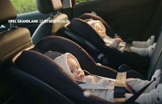 Opel Grandland X Hybrid4, fuoco alle polveri