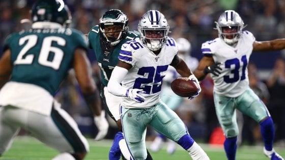 Nfl, i Cowboys a valanga sugli Eagles. Packers e Saints, prove di forza