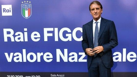 "Nazionale, Mancini: ""Vittoria Europeo vecchia di 50 anni, è ora di riprovarci"""