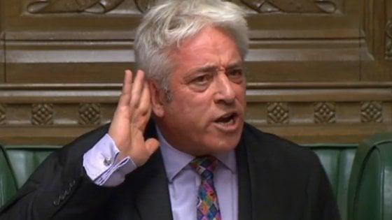 """Brexit, Bercow nega a Johnson un nuovo voto sul deal. Il premier: """"Contro volontà popolare"""""""