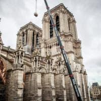"""Notre Dame, l'architetto Blasi: """"Ancora sei mesi per metterla in sicurezza"""""""