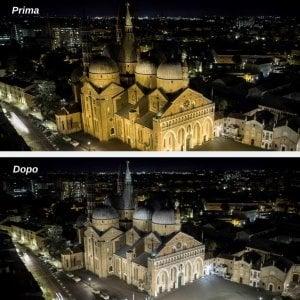 La Basilica di Sant'Antonio a Padova illuminata a led. Si risparmia sull'energia, ma c'è polemica sulla resa estetica