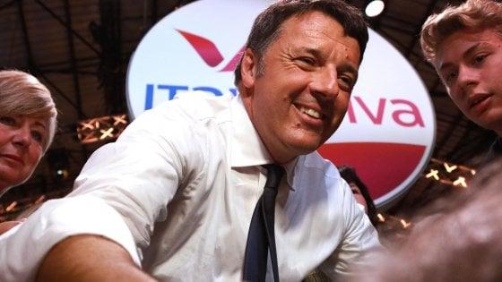 Renzi, Italia Viva: Già 10mila iscritti, 50 parlamentari entro lanno. Prendere voti a destra e sinistra, no litigi col Pd